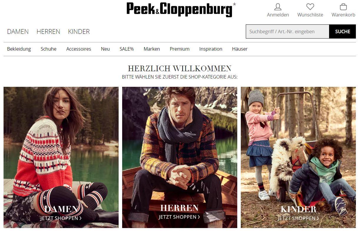 97e3f42c087c97 Peek   Cloppenburg komt met Nederlandse webshop
