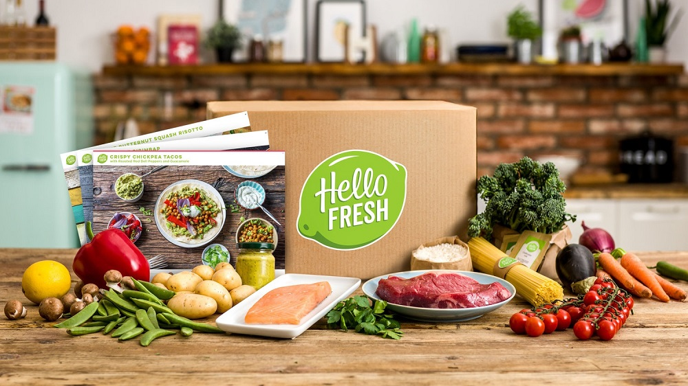 HelloFresh van start in Zweden