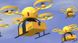 Uber wil fastfood via drone bezorgen