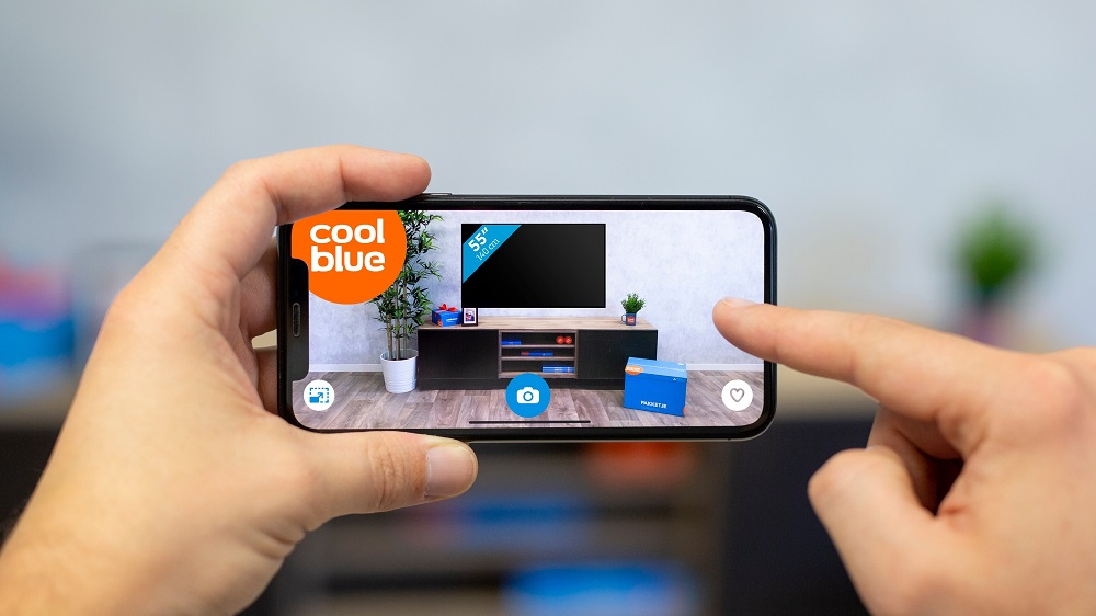 Coolblue voegt augmented reality functie toe aan app