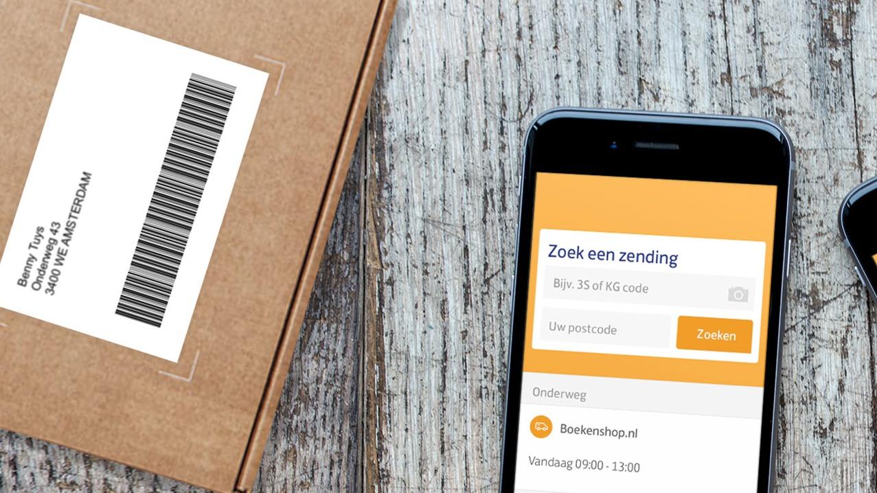 postnl geeft track trace info over food orders in app twinkle. Black Bedroom Furniture Sets. Home Design Ideas