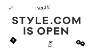 Condé Nast-shop Style.com is live