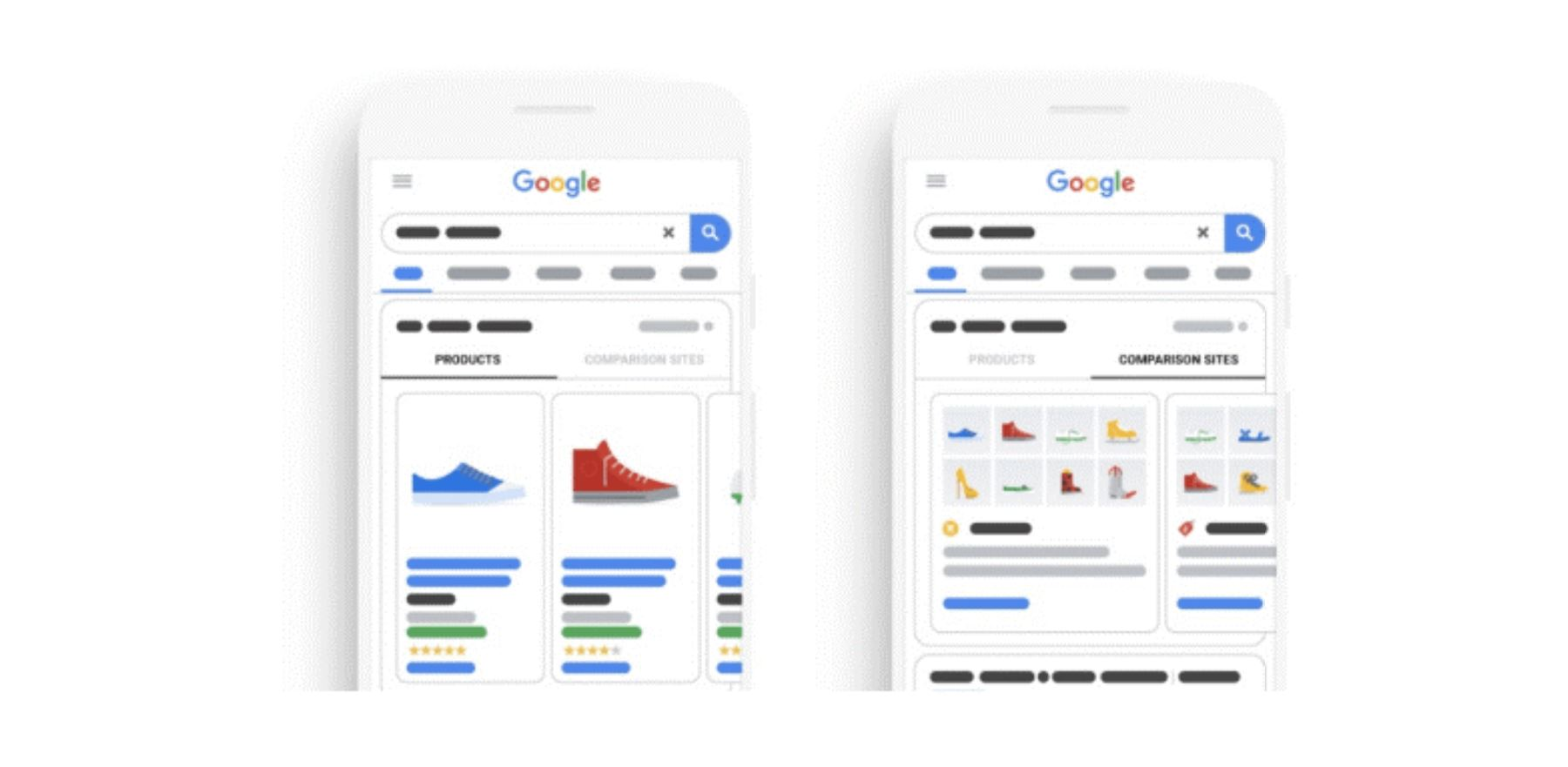Google komt met Comparison Listing Ads