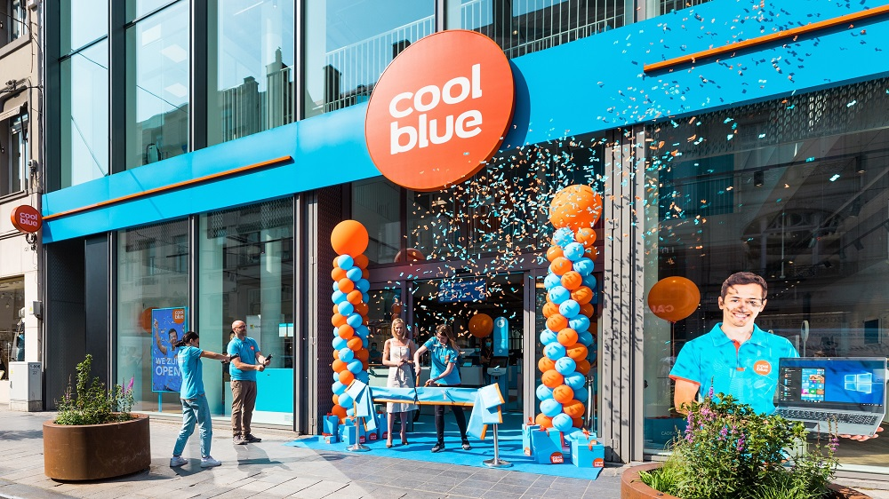 Coolblue opent flagshipstore in Brussel