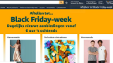 Amazon gaat voor een Black Friday-week