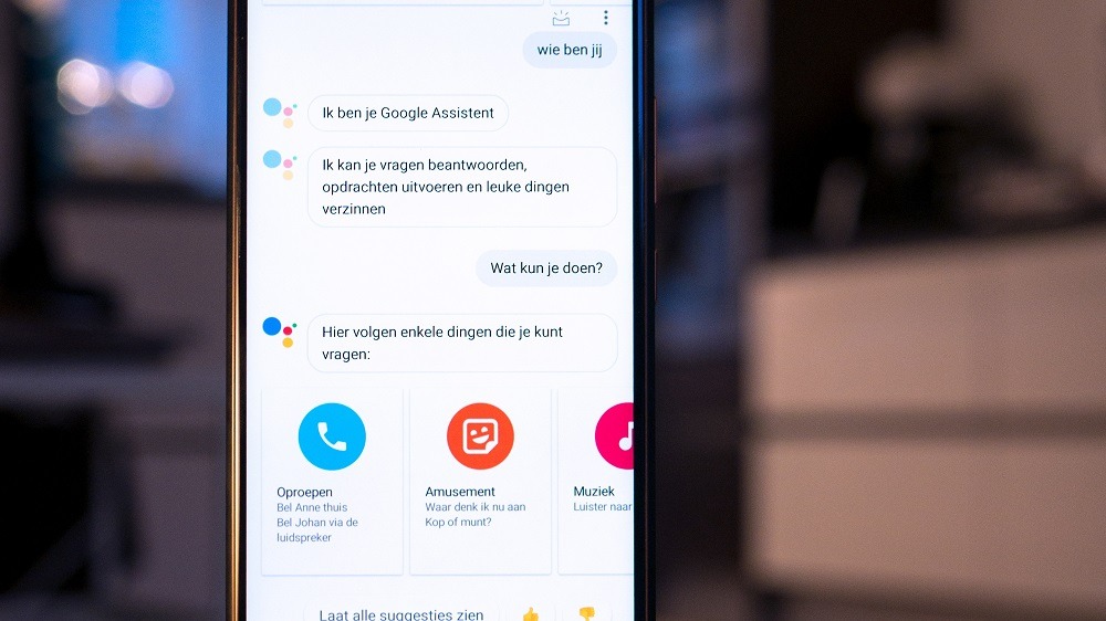 Nederlandse e-commerce in zee met Google Assistent